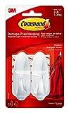Command - Ganchos y tiras adhesivas (2 unidades)