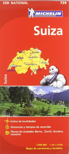 Mapa National Suiza (Mapas National Michelin)