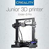 Laecabv Creality Ender 3 Pro 3D Printer Impresora 3D - Nueva etiqueta magnética suave Reanudar FDM Imprimir Apagar Calor 5 min - Tamaño de impresión 220x220x250 mm