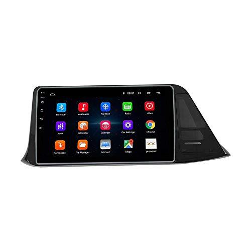 JIBO Zum to yo TA IZOA C-HR 2015-2019 Android 10 Auto Radio GPS Navigation Kopf Einheit IPS 2.5D Berühren Bildschirm Multimedia Spieler Navi SWC WiFi Bluetooth Video Empfänger