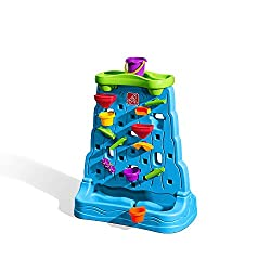 Scoop up water from the basin and pour it in the top bucket -- then dump it down the wall! Watch as the water cascades through all of the zigzags, spinners and funnels Each water maze piece can be moved to create a new waterfall of zigzag fun! Scoop ...