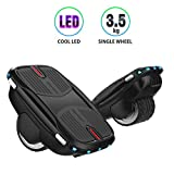 COZYSWAN Hovershoes Electric Roller Skating Shoes,Self Balancing Hoverboard 2 in 1 with Led Lights Hovershoes for Kids and Adults