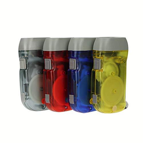 BFVV Hand Crank Flashlight Emergency Rechargeable LED Flashlight Immediate Torch