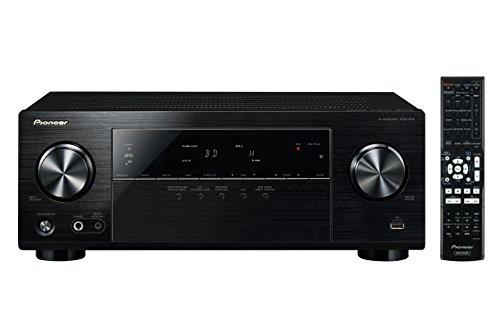 Pioneer VSX-424-K 5.1 AV Receiver (130 Watt pro Kanal, 4K Ultra HD Passthrough, HDMI 2.0, USB 2.0, ECO-Mode) schwarz