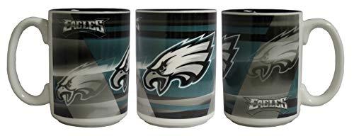 Memory Company NFL Philadelphia Eagles 15oz Shadow Mug