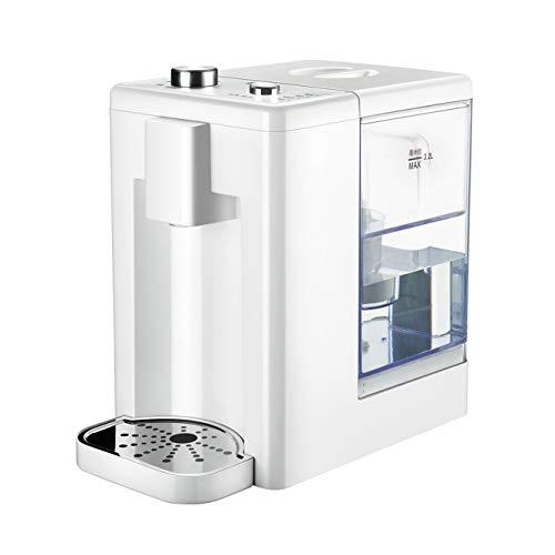 Dispensador De Agua Caliente, Maquina De Agua Fria y Caliente Hervidor Instantáneo Capacidad 3.2 litros con Filtro Temperatura del Agua del Quinto Engranaje para Uso En El Hogar