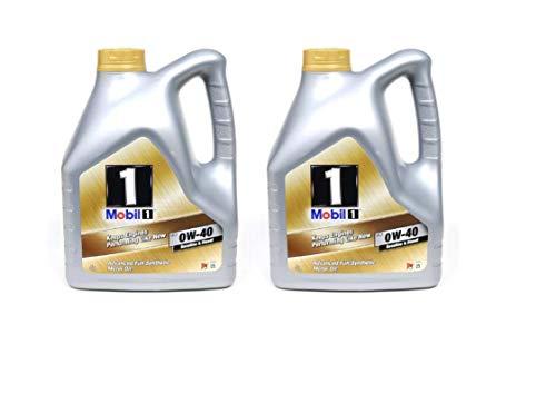Mobil 1 FS 0w40 2 taniche da 4 litri = 8 litri