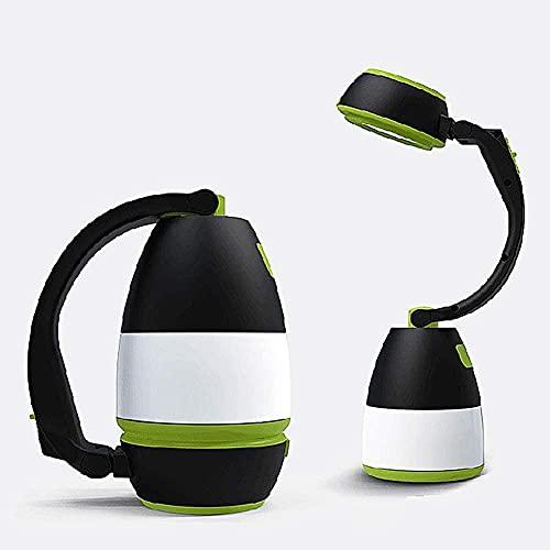 Camping luz USB recargable 3 en 1 LED luz de trabajo linterna multifuncional portátil luz de emergencia al aire libre iluminación senderismo pesca tienda