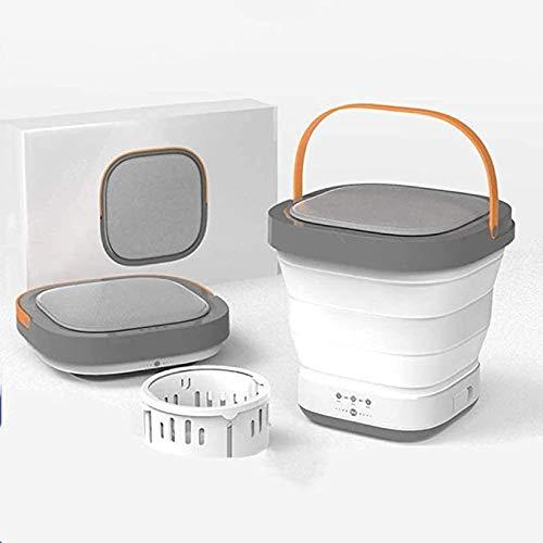 GONGFF Waschmaschine, tragbare Unterwäsche Unterwäsche Folding Waschmaschine Socken Schlaf Kleiner Mini Dehydration Typ, kompaktes Design