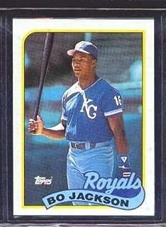 1989 Topps #540 Bo Jackson Collectible Baseball Card