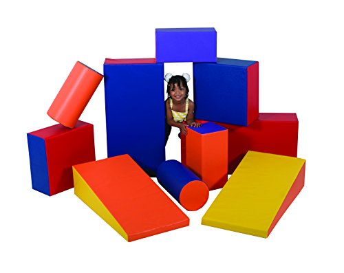 Amazing Deal Children's Factory Soft Shapes Set Foam Play Set Foam Blocks Toddler Playset Active Pla...