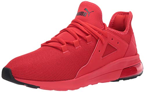PUMA Electron Street Sneaker, High Risk Red Black, 8.5 M US