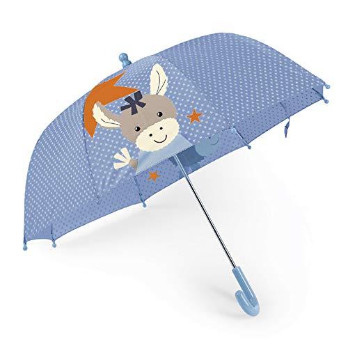Sterntaler Regenschirm, Esel Emmi, Alter: Kinder ab 3 Jahren, Hellblau/Mehrfarbig