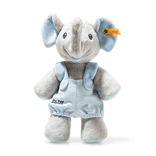 Steiff 241673 Trampili Elefant Stoffspielzeug 24 grau/blau