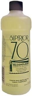 Superior 70 Bay Rum Alcohol, 11.8 Fluid Ounce