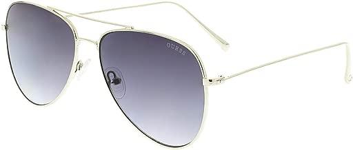نظارة شمسية بتصميم افياتور من شوبارد للنساء - اطار بلون بني، عدسات بلون بني، SCH870S