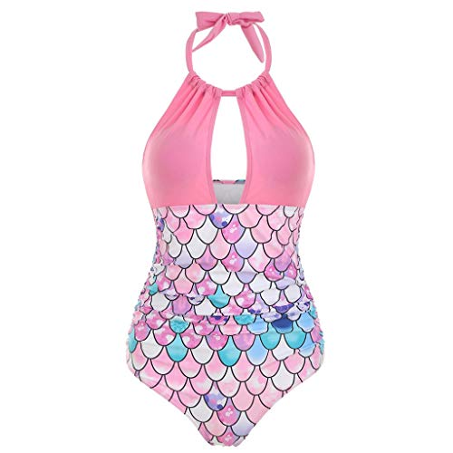 Badpak dames grote maat retro print swimwear cover up swimsuit One Piece sexy tankini halder badpak vrouwen bikini