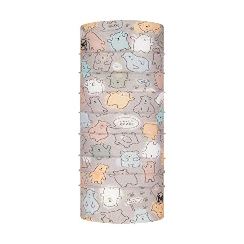 Buff Baby Bears Fog Tubular Original Junior Unisex Baby Grey, One Size