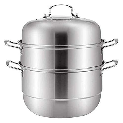 NBBB Sistema de Cacerola de Vapor de Acero Inoxidable Cocina de cocción de Vapor de Vapor de Vapor Hop Hop Gas Universal BOT 28 CM 1219