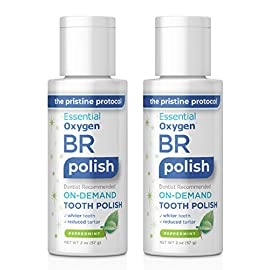 Brushing Rinse Toothpaste 23 Contains 1-32 oz bottle of Organic Mouthwash (Packaging May Vary) It Works! Premier Oral Care for whitening, breath freshening and removing bad breath germs with the power of hydrogen peroxide, aloe and organic essential oils. Learn more at YouTube: Essential Oxygen Brushing Rinse It's Clean! All natural and free of alcohol, fluoride, glycerin, sugars or sodium lauryl sulfate or anything objectionable!