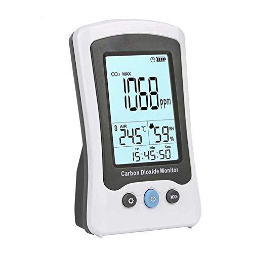 Digital-Kohlendioxid-Detektor, hochpräziser CO2-Erfassungs-Temperaturfeuchtigkeit Laser Luftqualitätsmonitorprüfgerät