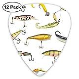 Pesca Aparejos de pesca Cebo para atrapar Atrapar Atrapar animales acuáticos Moluscos Diseño de tema Multi (paquete de 12)