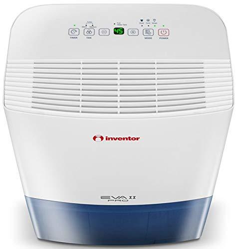 Inventor EVA II PRO 20 litros/día, Deshumidificador, Secador De Ropa y Deshumidificación Inteligente para Máximo Ahorro de Energía – 2 Años de Garantía