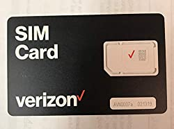 in budget affordable $ 40 for Verizon Wireless Prepaid Activation Kit and Universal nano SIM Card.