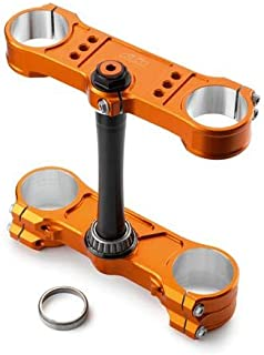 KTM SXS Triple Clamps 20/22mm (Orange) SX/XC 13-16 SXS13450460