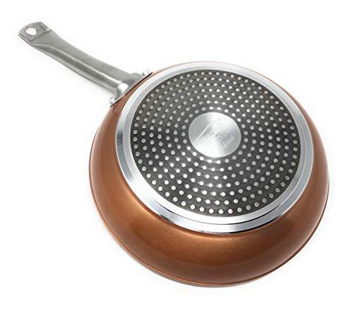 Royal Chef - Poêle à Frire Professionnel - Aluminium Forgé - Revêtement Premium Antiadhésif - Ø 28 cm
