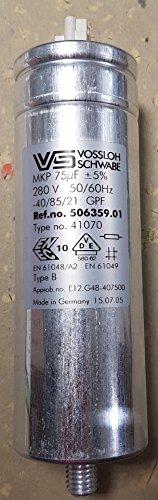 506359.01Type no. MKP 4107075MF +/-5% 280V 50/60Hz