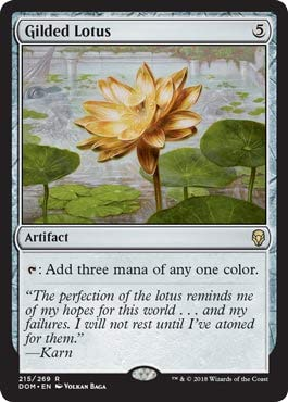 Magic: The Gathering - Gilded Lotus - R - Dominaria