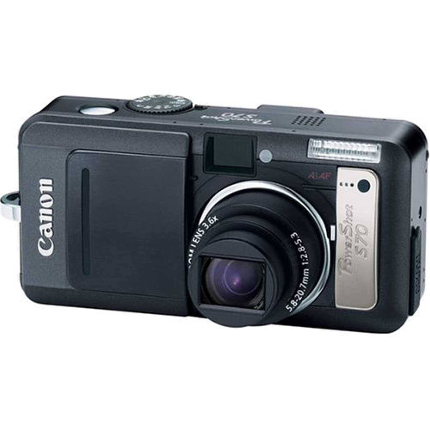 Canon PowerShot S70 7.1MP Digital Camera with 3.6x Optical Zoom