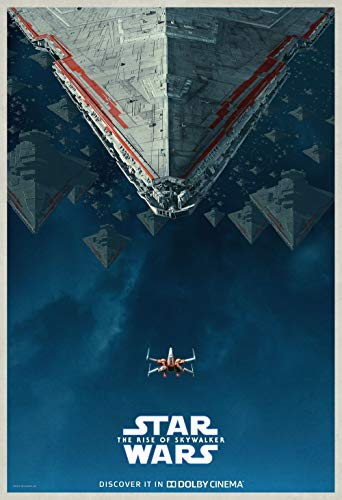 Lionbeen Star Wars The Rise of Skywalker - Movie Poster - Cartel de la Pelicula 70 X 45 cm. (Not A DVD)