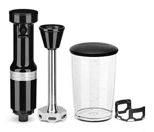 KitchenAid Variable Speed Corded Hand Blender, Onyx Black, 8 in (KHBV53OB)