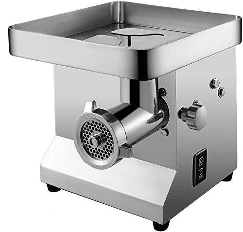 LKOER Máquina de picadora de Carne de Carne eléctrica Máquina de picadilla de Carne de Carne Comercial 1100W Máquina de picadora de Carne eléctrica 300kg por Hora Carne jinyang