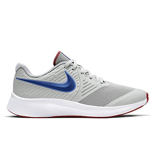 Nike Star Runner 2 GS, Zapatillas Deportivas, Photon Dust Game Royal Univ Red White, 36 EU