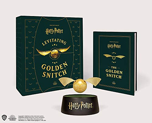 Harry Potter Levitating Golden Snitch