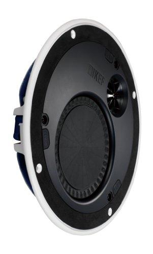 KEF CI160TR Ultraflacher Einbaulautsprecher mit 3,6cm Einbautiefe Weiß