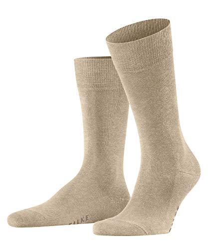FALKE Herren Family M SO Socken, Beige (Sand Mel. 4650), 39-42 (UK 5.5-8 Ι US 6.5-9)