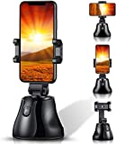 Eadidi Smartphones Gimbal Stabilizer, 360° Rotation Auto Face Tracking Smartphone Holder, Vlog Shooting Record Videos Mount Tripod for Smarphone