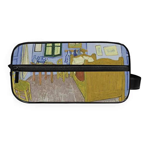 Trousse de toilette portable Deziro Van Gogh pour chambre à coucher - Étanche - Organiseur de maquillage - Pour femme et fille