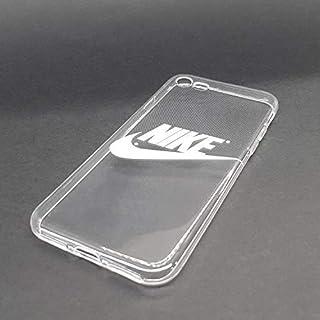 e0eafbe7b0ce custom-cases Coque Housse pour Mobile Housse Logo Nike Blanc avec Arrière  Transparent - IPhone