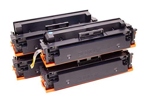Set 4X Alternativ Toner für HP 415A 415X (ohne Chip) für HP Color Laserjet Pro M454 Series M454dn M454dw MFP M479 M479dw M479fdn M479fdw M479fnw von ABC