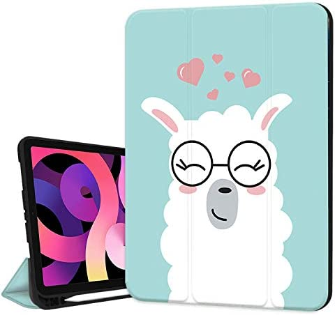 Hepix Case for New iPad Air 4th Generation 2020 Llama iPad Air 10 9 inch Case with Pencil Holder product image