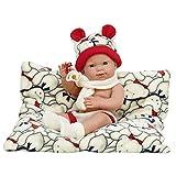 Nines Artesanals d'Onil- Baby RN Ositos Muñeca, Multicolor, 37 (NINES ARTESANALS D´ONIL SL. 1) , col...