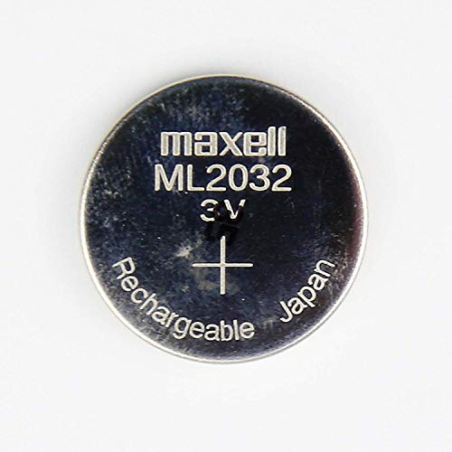 Maxell ML2032 Rechargable 3V coin cell lithium motherboard cmos battery
