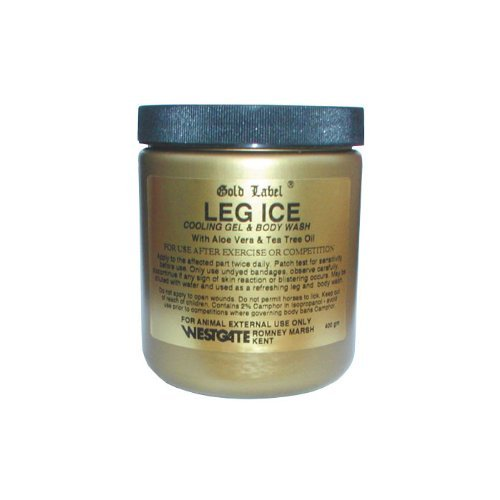 Gold Label Leg Ice, 400g - A cooling gel for competition horses by William Hunter Equestrian