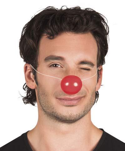 Party Store web by casa dolce casa NASI da Pagliaccio Clown in PLASTICA per Compleanno Eventi ADDOBBI Carnevale Festa in Maschera - Kit n°2 CDC- (12 NASI in PLASTICA)