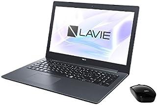 NEC 15.6型 ノートパソコン LAVIE Note Standard NS600/KAシリーズ カームブラックLAVIE 2018年 夏モデル[Core i7/メモリ 4GB/HDD 1TB/Office H&B 2016] PC-NS600KAB